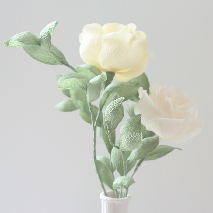 pale yellow&white roses duo_05