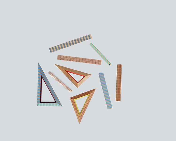 Wooden Ruler, Wooden Ruler Triangle