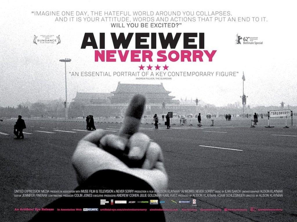 Ai Weiwei Never Sorry 1